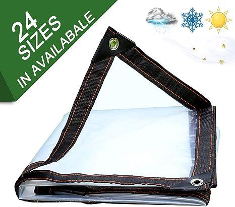 NaDrn Lona PVC, Plastico Lonas Impermeables Exterior, Lonas para Piscinas Toldo Sombra para Pergolas Exteri Muebles Jardín Piscina Coche,120 g/m², 0.12 mm, 24 Tamaños,5x10m/16x33ft: Amazon.es: Deportes y aire libre