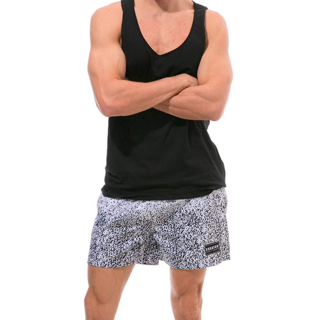 Cheap Clearance! Yvelands Trajes de ba/ño Ba/ñadores de Moda para Hombre Boxer Surf Short Briefs Ba/ñadores Short Men Thermal Sports Ba/ñador acu/ático de Bolsillo Casual Beach Pants Summer