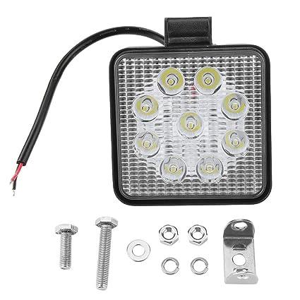 Luz de Trabajo Cuadrada del LED 4 Pulgadas 27W que Conduce el ...