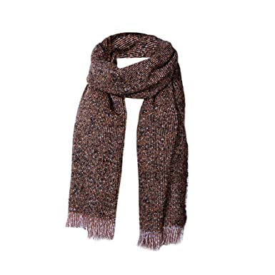 789813300 Lazzboy Womens Scarf Shawl Warm Cashmere Autumn Winter Dot Plaid Tassel  Scarfs Gift For Lover Accessories(Yellow,55 * 210cm): Amazon.co.uk: Clothing