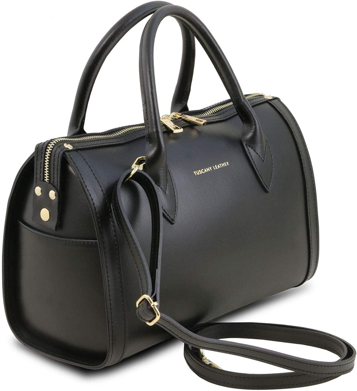 Tuscany Leather Elena Bauletto in pelle - TL141829 Nero