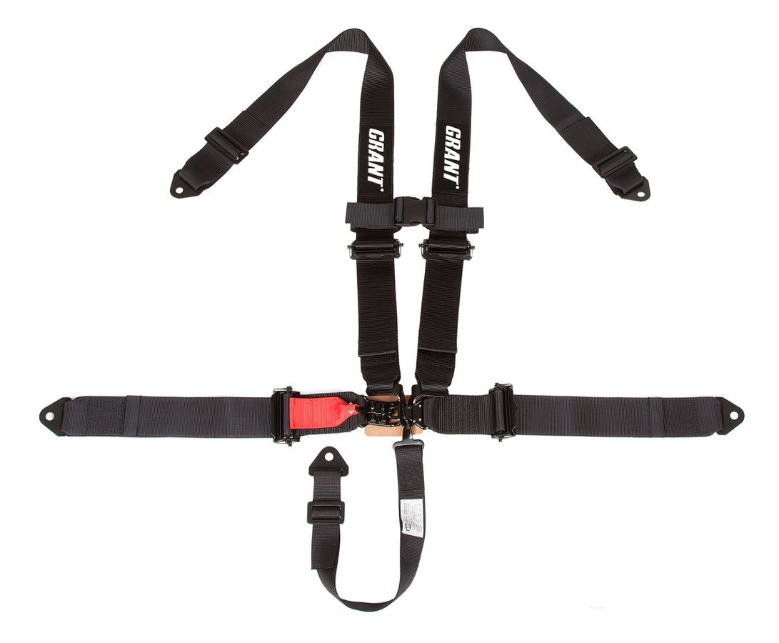 Grant 2110 5-Point Off-Road Harness, 3 x 3 Latch and Link Without Pads