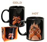 ドラゴンボール Z 悟空 マグコップDragon Ball Z Goku Heat Reactive Mug (Black) (BLACK)