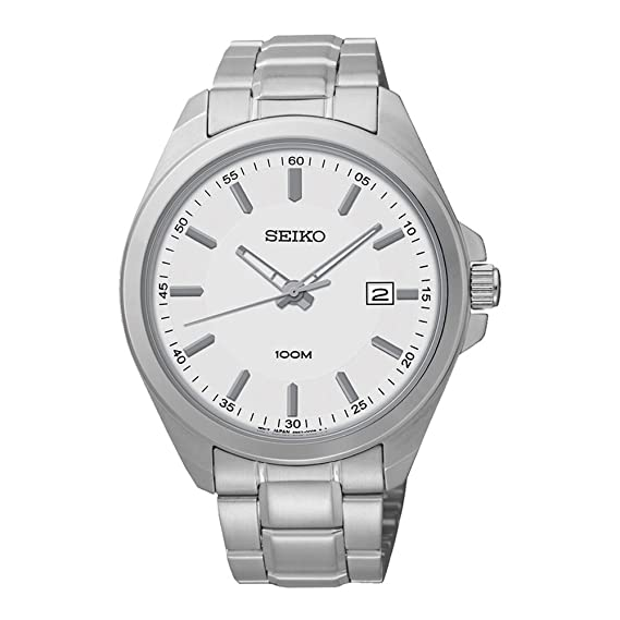 60066a5a3576 Reloj cuarzo para hombre Seiko 5 SUR057P1  Amazon.es  Relojes