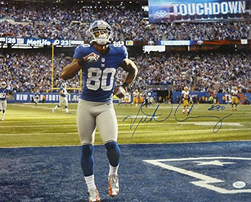 Signed Victor Cruz Photograph - 16x20 10932 - JSA Certified - Autographed NFL Photos by Sports Memorabilia