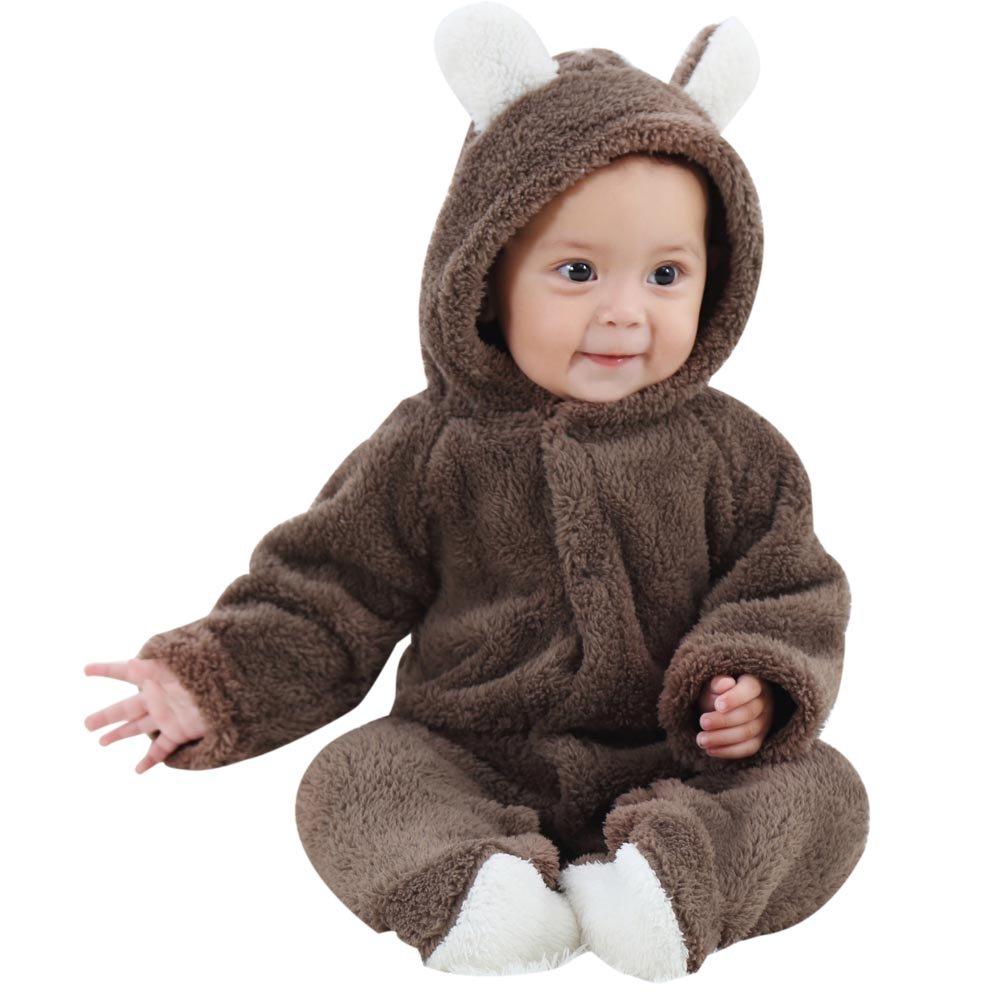 Klettern Kleidung ESHOO Neugeborenes Baby Tier Strampler Jumpsuit Snowsuit Outfit Mantel