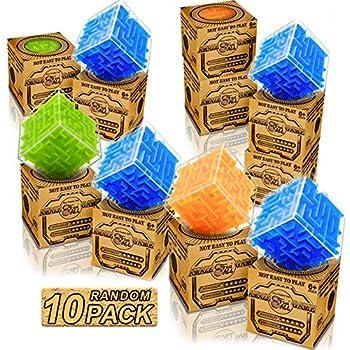 6 Mini Lego Brick Maze Puzzles.Party Bag Toys,Loot Bag Fillers.PRIMARY REWARD