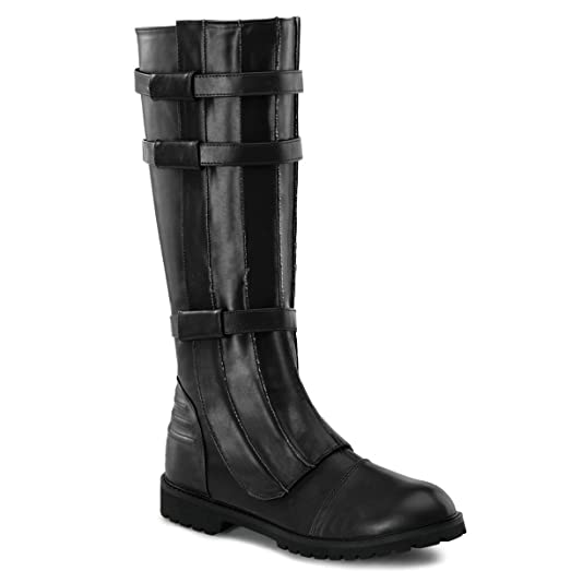 Funtasma WALKER-130 mens Black Polyurethane Boots Size - XL