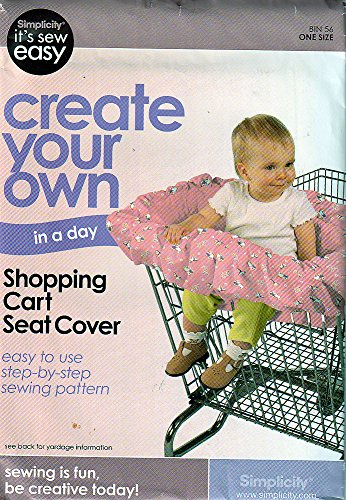 Simplicity Sewing Pattern 9034636 c2010 Babys' Shopping Cart Cover -