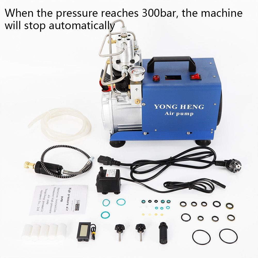 OBLLER 30MPa Auto Stop Elektrische Air Compressor Pump Hochdruck System Rifle PCP 1.8KW