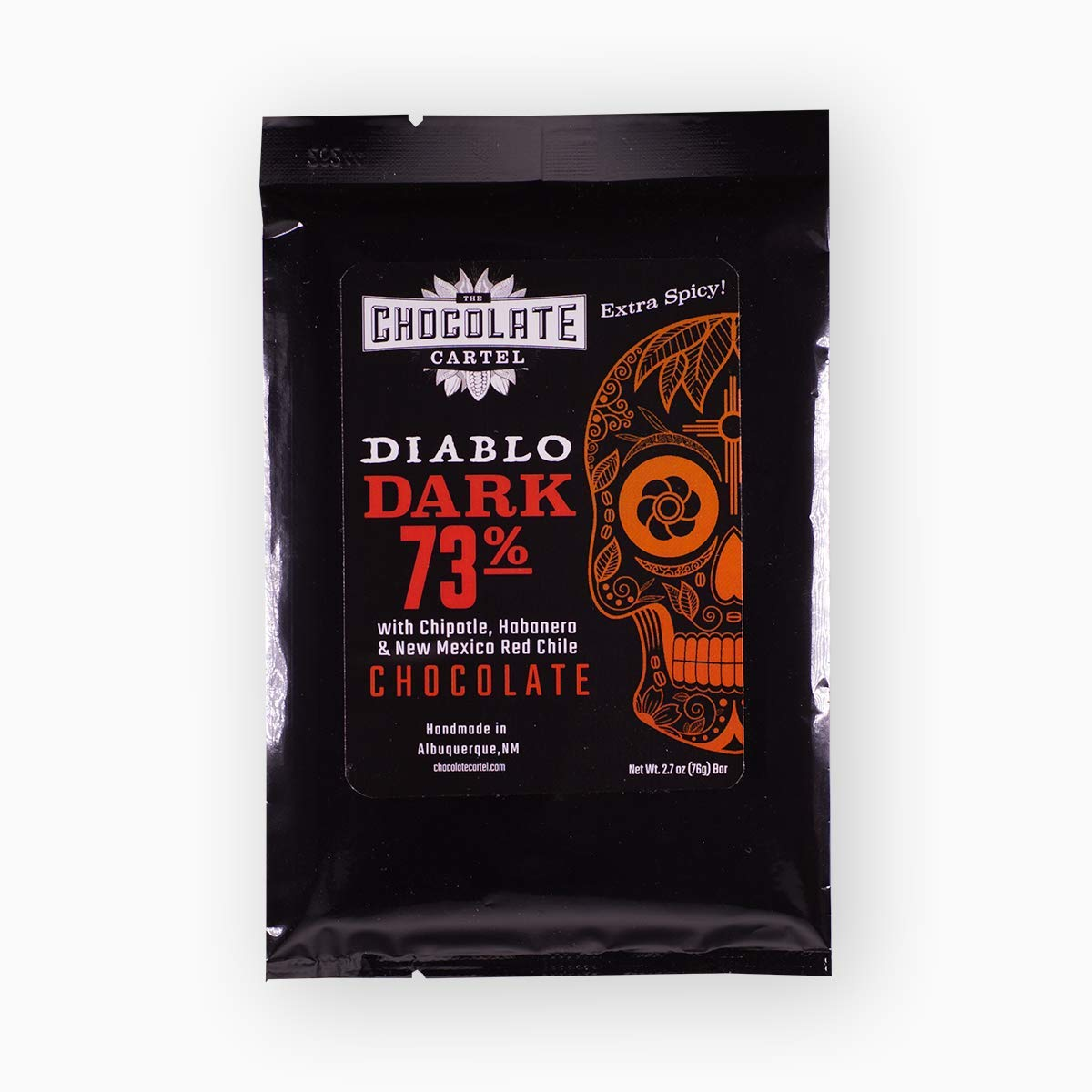 Amazon.com : Diablo Xtra Spicy Dark Chocolate Bar : Grocery ...