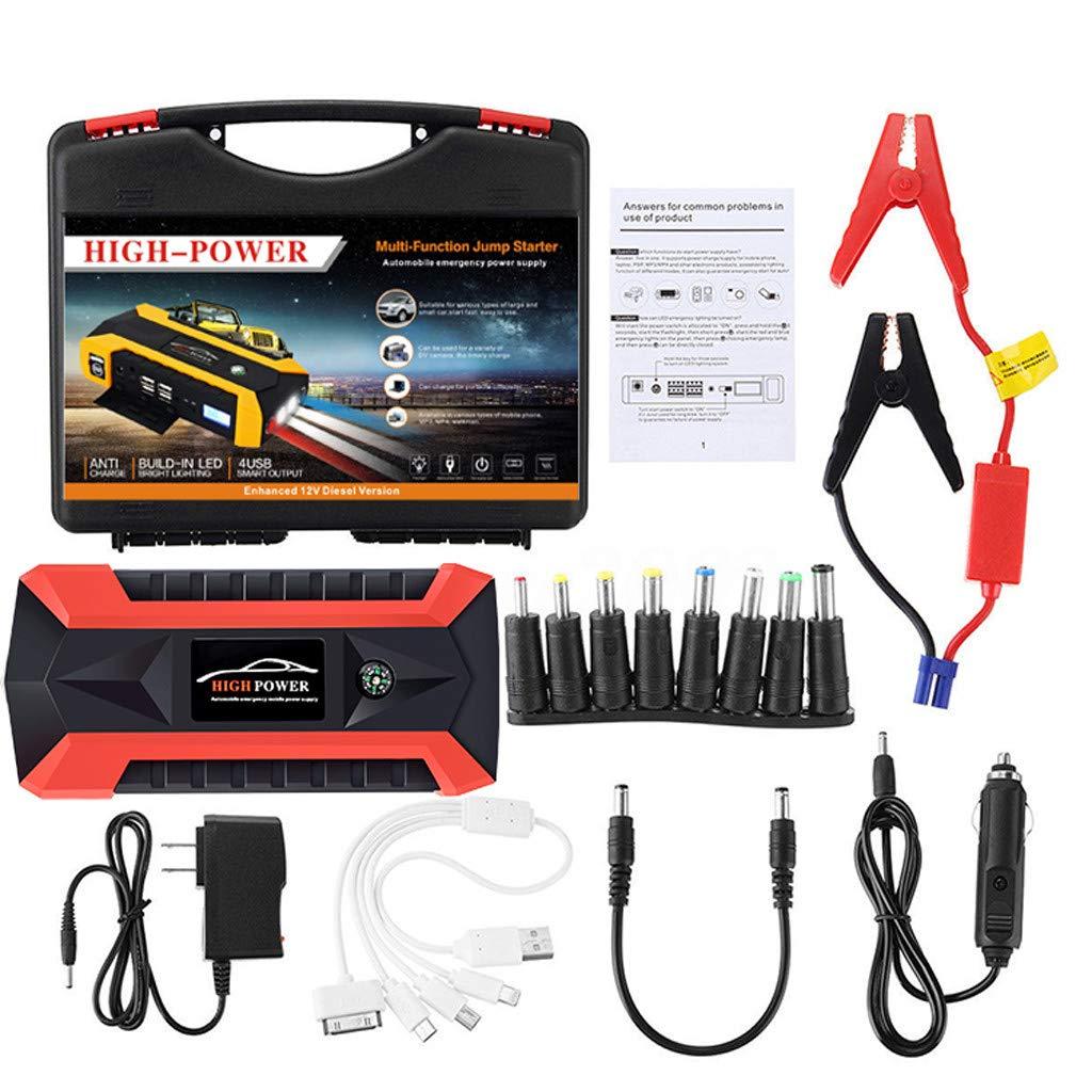 Amazon.com: Arrancador de batería de coche 600 A pico con ...