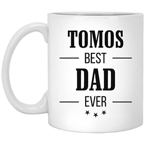 Best Dad Ever MugGift for DadPersonalized Dad MugFathers Day Mugs