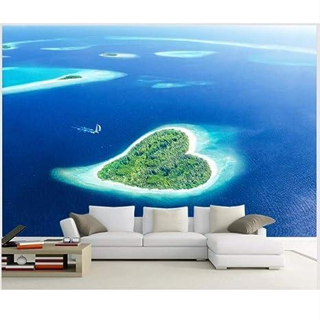 Amazon Com Pbldb 3d Wallpaper Custom Mural Romantic