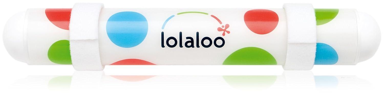 Lolaloo Kinderwagenschaukler, Einschlafhilfe Einschlafhilfe Einschlafhilfe für Babys, schaukelt jeden Kinderwagen, weiße Klettbänder f27c1f
