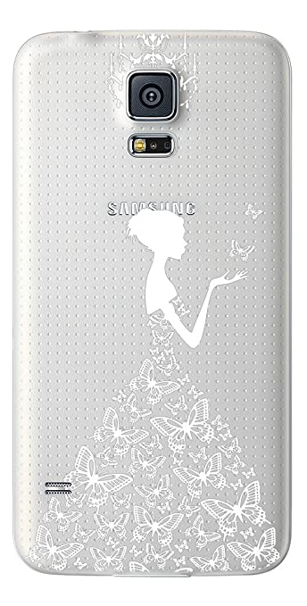 6 opinioni per TPU Gel Cover per Samsung Galaxy S5/ S5 Neo /S5 New- trasparente, flessibile,