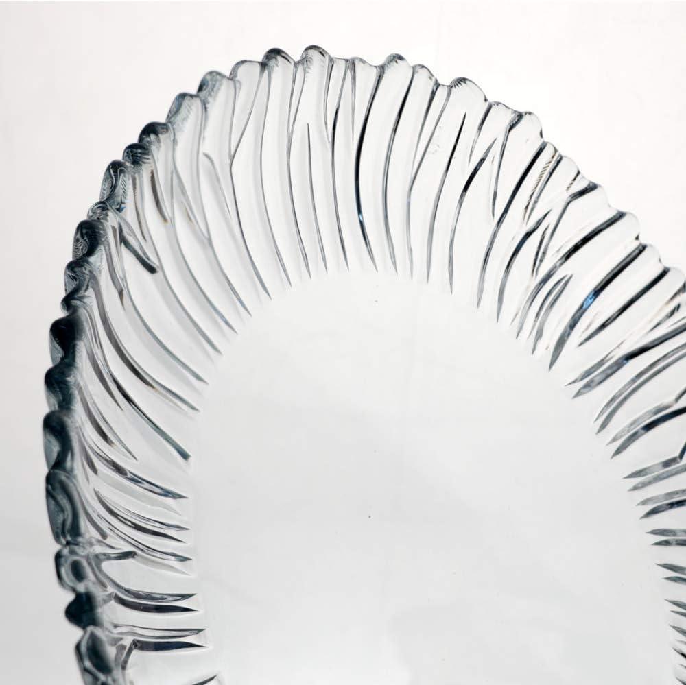 Pasabahce 10499/L Aurora Glass Plate Round 31.5/cm