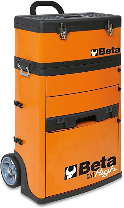 Beta C41H-N C41H Chariot /à outils professionnel 2 modules s/éparables pour atelier Noir