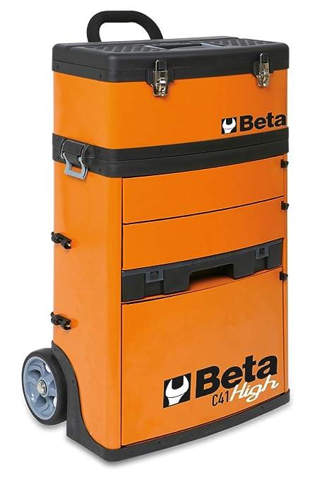Beta 041000002 - C41H-O-Trolley Portaherramientas 2 Mód , naranja: Amazon.es: Industria, empresas y ciencia