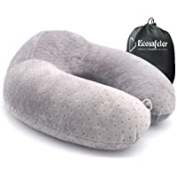 Portable Travel Pillow - Neck Perfect Support Pillow,Luxury Compact & Lightweight Quick Pack for Camping,Sleeping Rest Cushion