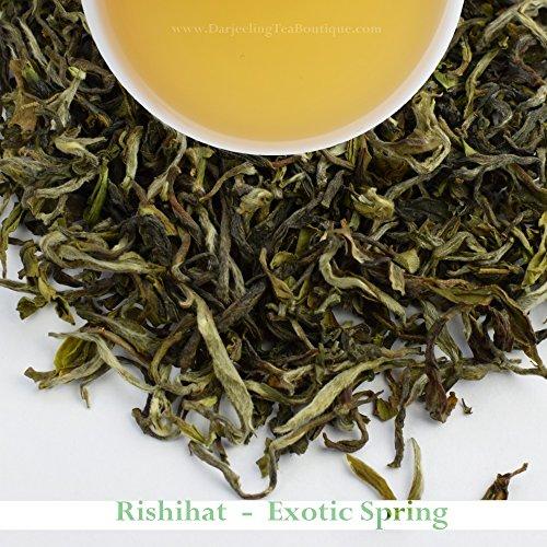 2017 - Rishihat Spring Exotica - Darjeeling First Flush Tea | 500gm (17.63oz) | Organic Indian Black Tea | China Cultivar | Darjeeling by Darjeeling Tea Boutique