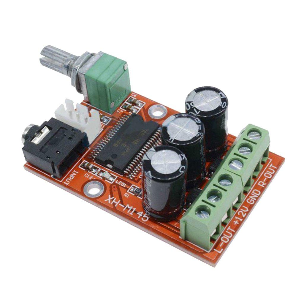 Baoblaze Tablero Amplificador de Potencia Digital Clase D M/ódulo de Alta Potencia Chips YDA138-E