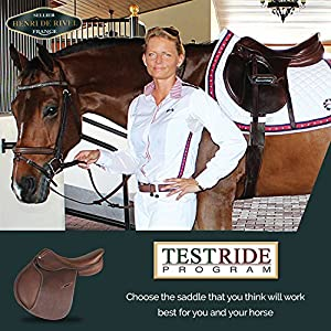 Henri de Rivel Advantage All Purpose English Saddle | Horse Riding Equestrian Saddle