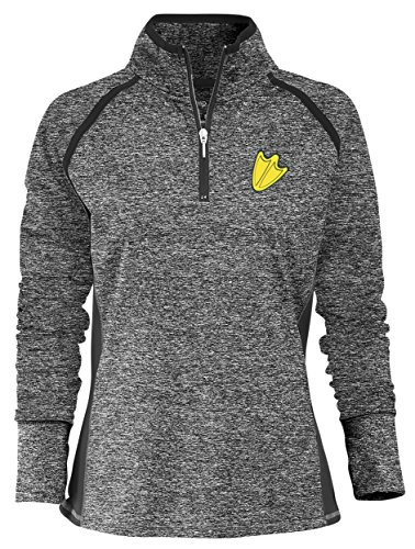 Camp David NCAA Finalist Women's Quarter-Zip Pullover Oregon Ducks Small (Oregon Quarters)