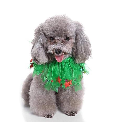 Amazon.com: Oooo - Collar para perro, diseño de campana y ...