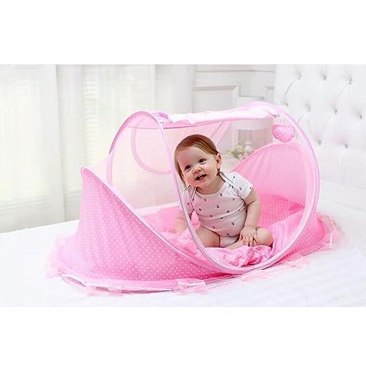 Amazon.com: bersun Cuna de viaje, bebé tienda de campaña ...