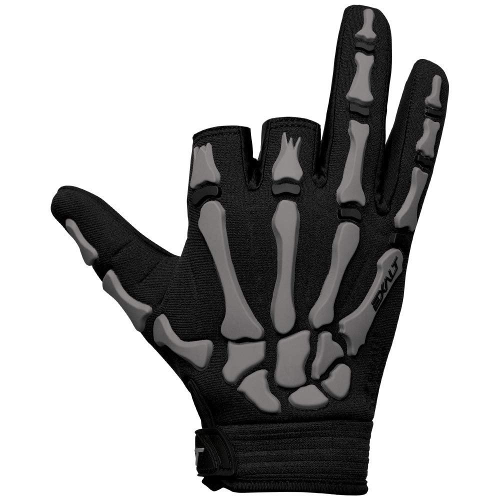 Exalt Paintball Death Grip Glove - Grey - Large by Exalt
