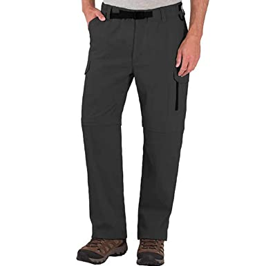 df80397df28 BC Clothing Men s Convertible Cargo Hiking Pants Shorts at Amazon ...