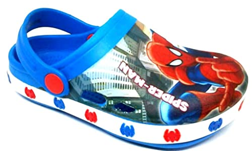 san francisco b9fa4 9a128 ARNETTA Spider-Man Ciabatte Mare Bimbo Art. S17196 MOD. Clogs Royal 22/29