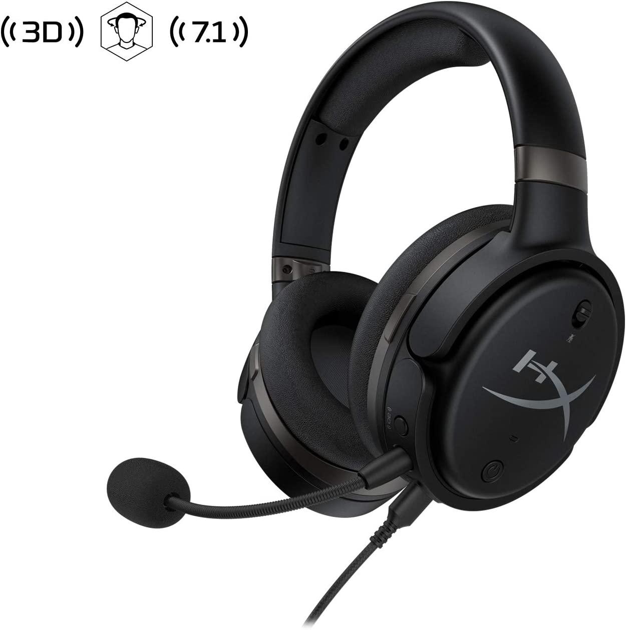 HyperX HX-HSCOS-GM/WW Cloud Orbit S - Cascos de Gaming con Audio ...