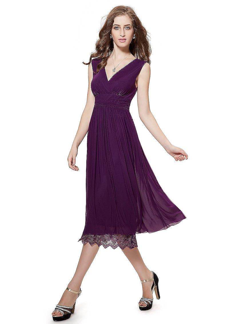 7f0f1582a32 Ever-Pretty - Tailleur-robe - Cocktail - Femme Violet MoradoScuro 36   Amazon.fr  Vêtements et accessoires