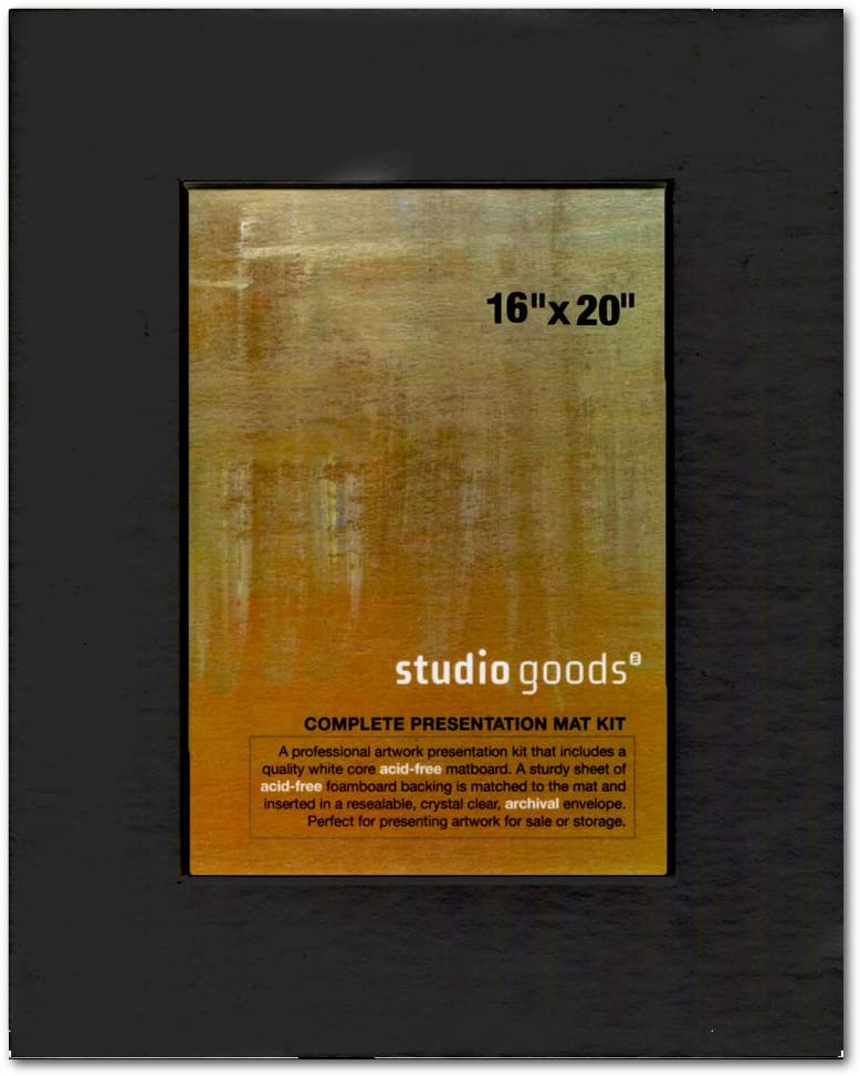 Studio Goods Mat Kit 16X20 Paper White
