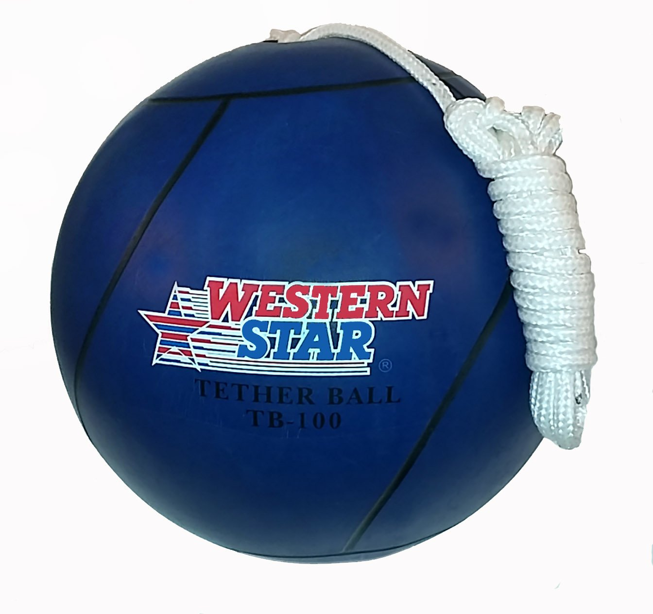 Western Star Blue Tetherball Playground Assorted Colors by Western Star