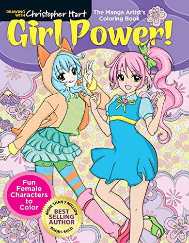 Manga Artists Coloring Book Christopher product image