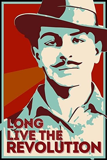 Buy Bhagat Singh Long Live The Revolution On Fine Art Paper Hd