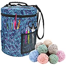 ORGANIZER FOR KNITTING bucket knitting bag wool yarn storage bag for needle crochet yarn, crochet