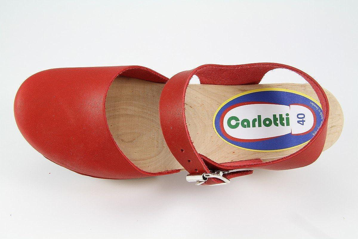 Carlotti Design Clogs Britta rot