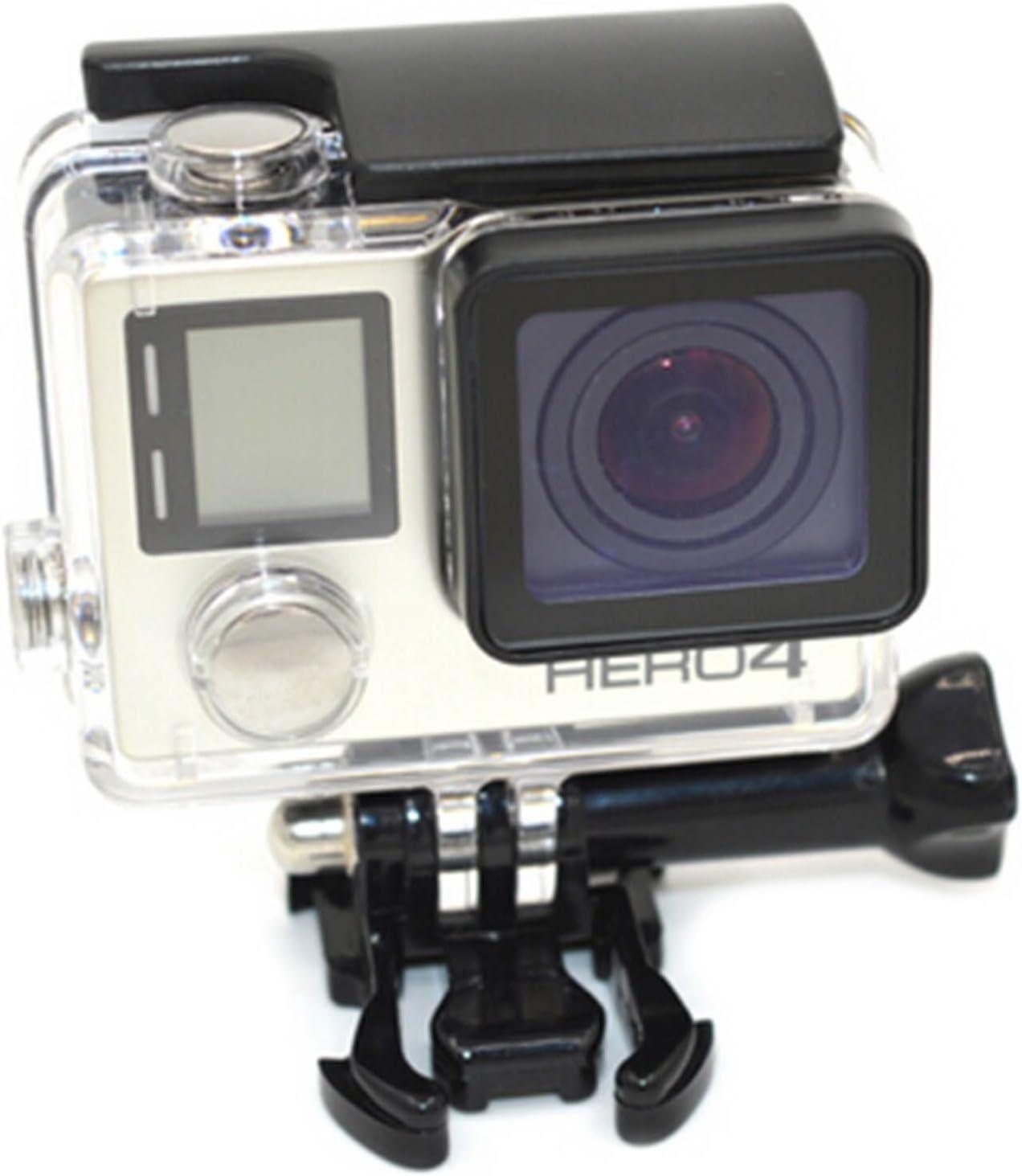HuntGold Carcasa acuática esqueleto protector caja de la cámara de montaje para GoPro HD Hero 4: Amazon.es: Electrónica