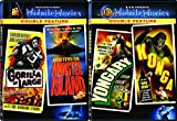 MGM Midnite Movies Gorilla at Large / Mystery on Monster Island & Yongary / Konga DF 4-Movie Bundle