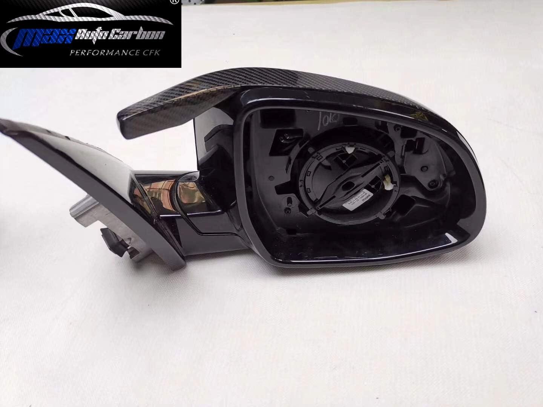 Max Auto Coque de r/étroviseur en Carbone pour X3 X4 X5 X7 G01 G02 G05 G07