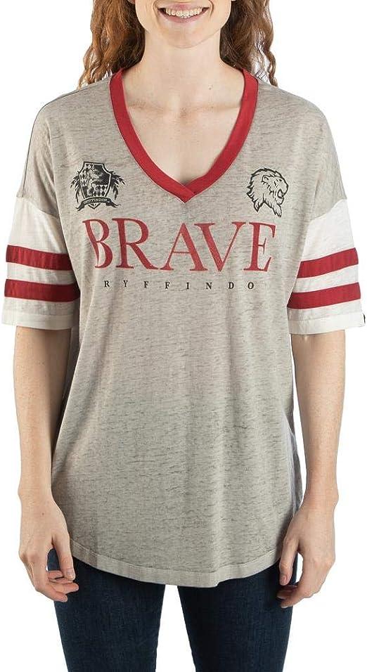 Harry Potter Hogwarts Long Sleeve Tee Licensed T-Shirt Gryffindor Slytherin Rave