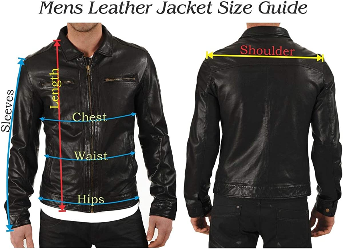 Skin2Fashion Mens Leather Jackets 161