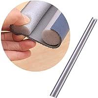 TOPBATHY Door Bottom Seal Strip Flexible Windproof Door Sweep Sound-Proof Strip (Grey)