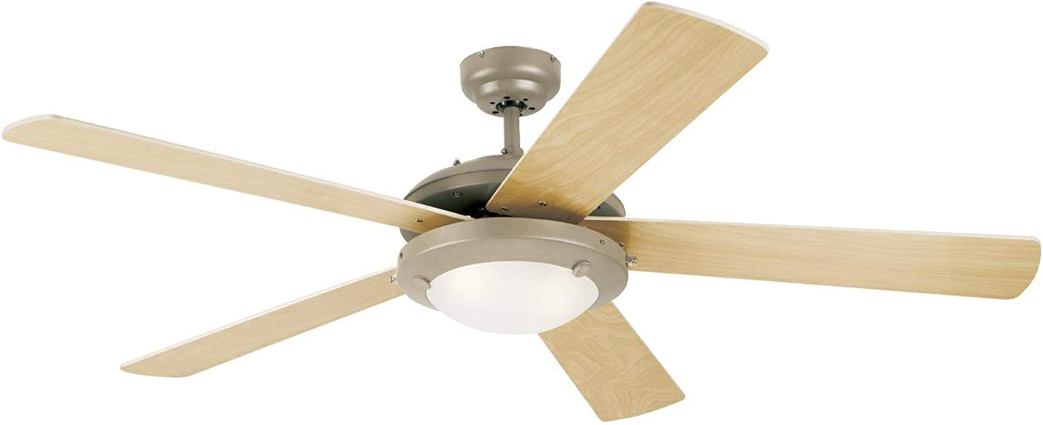 Westinghouse Lighting Comet Matte Black Ceiling Fan