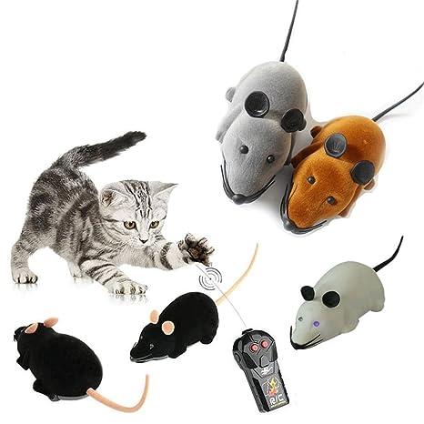 Broadroot Juguete para gato, mando a distancia, Ratón Ratón, inalámbrico, juguete divertido