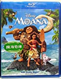 Moana (Region Free Blu-Ray) (Hong Kong Version / English Language. Mandarin & Cantonese Dubbed) 魔海奇緣